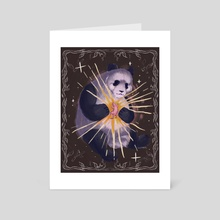 Welcome to Earth - Art Card by Betz Slaymaker