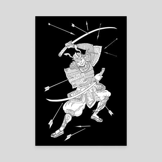 Samurai by Katherine Boykova