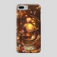 The Scholars' Tower - Phone Case by Julie Dillon