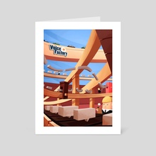 The Voice Factory - Art Card by Renaud Forestié