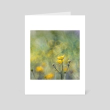 Floral impression XIII - Art Card by Angel Yanev
