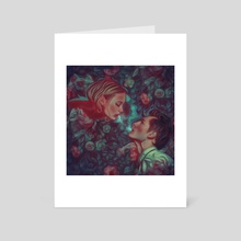 Romeo and Juliet - Art Card by Damir Martic