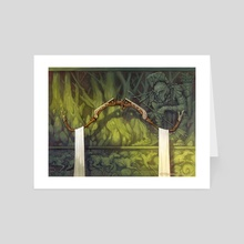 Bow of the Hunter - Art Card by Chuck Lukacs