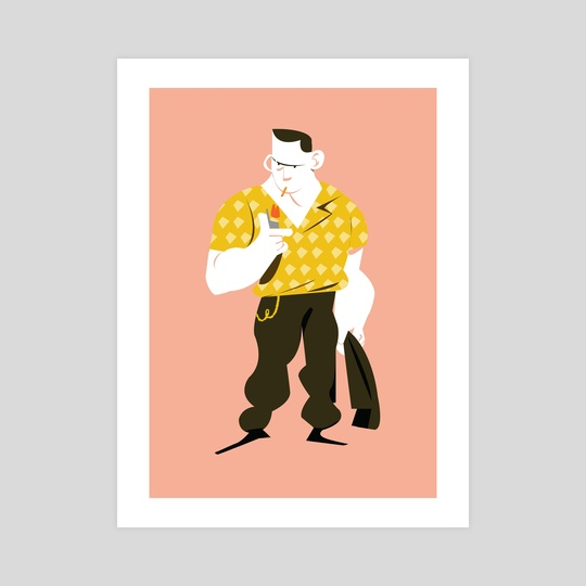Tough guy by Diigii Daguna