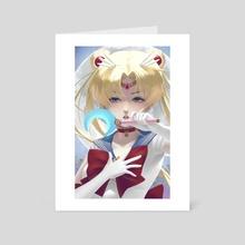 Sailor Moon - Art Card by Anna Lee