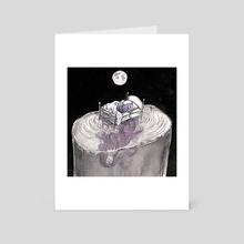 Deep - Art Card by Amanda Yam