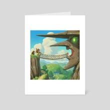 Spiral Mountain - Art Card by Matt Rockefeller