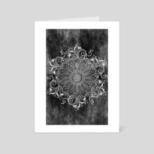 Mandala - Concrete - Art Card by Alexandre Ibáñez