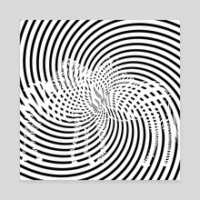 Op Art 1 - Canvas by Michal Eyal