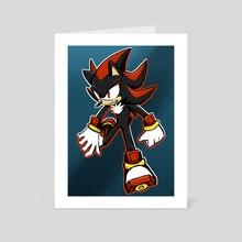 Shadow the hedgehog - Art Card by Gui marcos