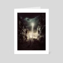 Uncanny Deliberation - Art Card by Julian Faylona