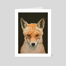 Mrs Foxy - Art Card by Carl Conway