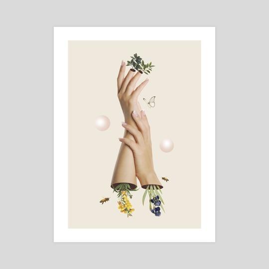 Hands Collage by Beatriz Ortiz