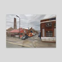London Street - Acrylic by Eric Paints