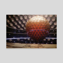 Amaterasu - Canvas by Julian Faylona