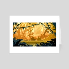 Magical Forest - Art Card by Miguel Co
