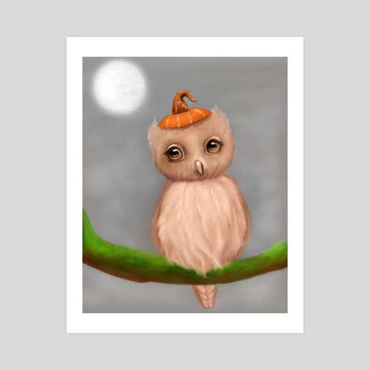 Owl by Meagan VanBlaricom