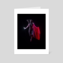 DYING  - Art Card by Yugal Odhrani