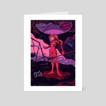 ASUKA - Art Card by Janel Catajoy