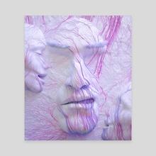 Through my veins - Canvas by Alexander Pevchev