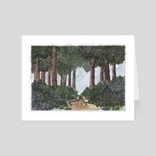 The fourth forest - Art Card by Боженов Юрий