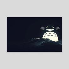 Ghibli Dreams v3 - Canvas by WP van Overbruggen