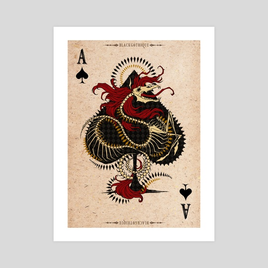 . Ace of Spades . by baroquegothik