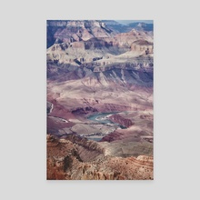 the grandest of canyons - Canvas by Kirsten Wong