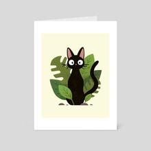 Jiji Print - Art Card by Nora  Sun