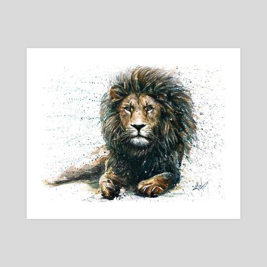 Lion 2 by Konstantin Kalinin