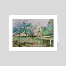 Dutch House - Art Card by Glen Neff