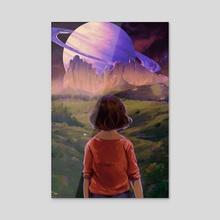 May - Acrylic by Luna Skelton