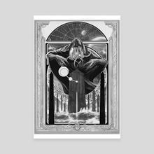 Lord of the Dark Pillar - Canvas by Adam Schumpert