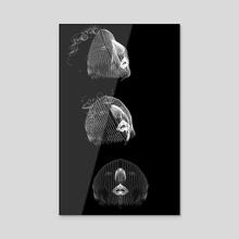 les Atlantes (02) - Acrylic by Lan Prima