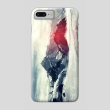 The Mantra's Mountain - Phone Case by Tchal Art