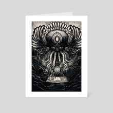 Cthulhu - Art Card by Flo Tasser