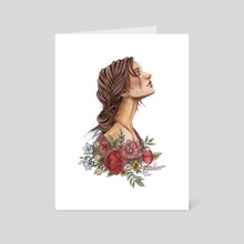 Nature Spirit - Art Card by Laura Chillida