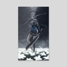 Kaine - Acrylic by Dinhosaur