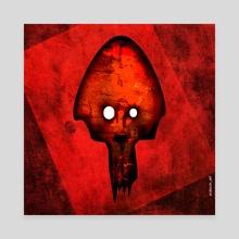 Medusa - Canvas by Diego Cirulo