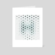 36 days of type 2018 - H - Art Card by Martin Naumann