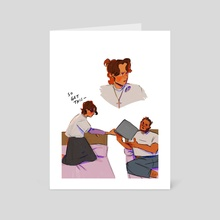 law girl - Art Card by Skep Frog
