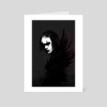 The Crow - Art Card by Nikita Abakumov