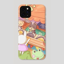 Food Truck Pup - Phone Case by fogcat