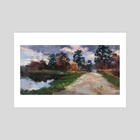 Country Road - Art Print by Allison Gloe