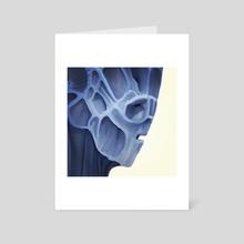 Untitled Head - Art Card by Utopia