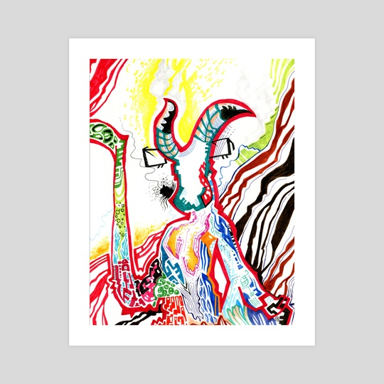 Hellboy Redux by Spartaco Margioni