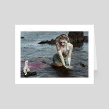 Mermaid Tears - Art Card by Trisha May