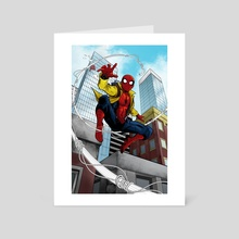 Spider-Man: Homecoming - Art Card by Kyle Guilbault