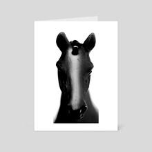 Gaze - Art Card by Celeste Groenewald