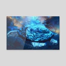 Sea Turtles Soaring - Acrylic by Tyler Street